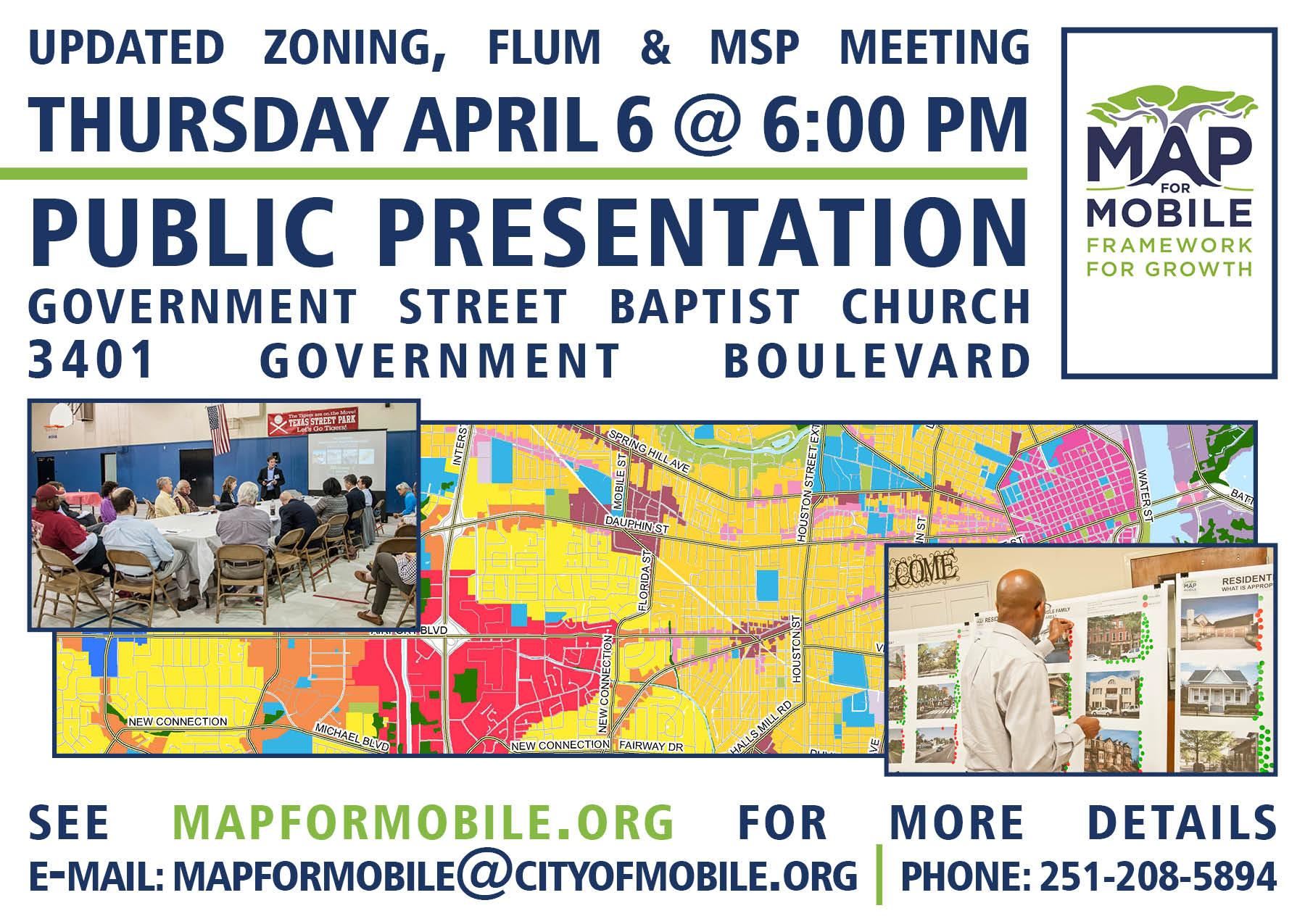 Updated Zoning, FLUM & MSP Meeting