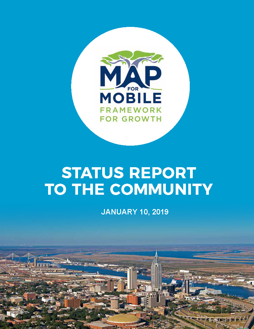 Map for Mobile Status Report To The Community